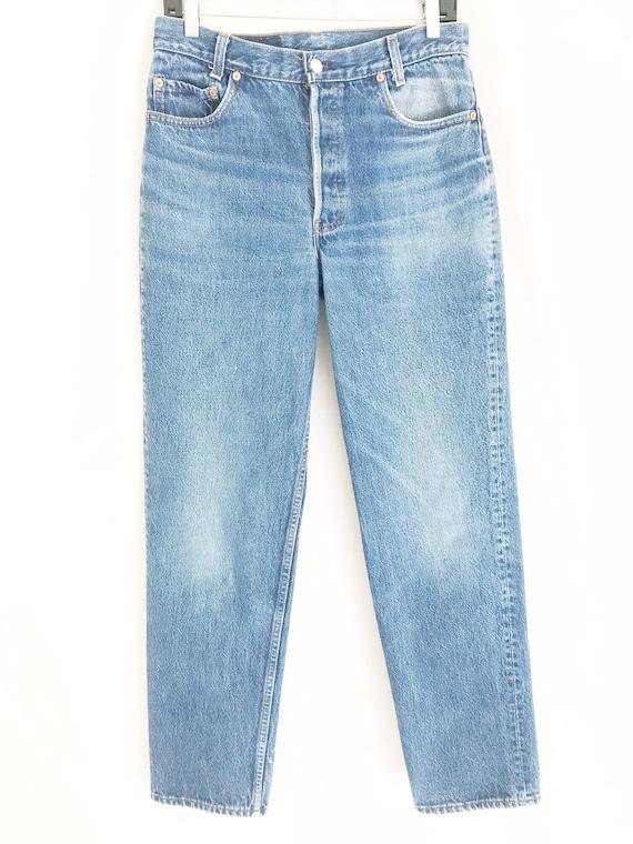 Vintage LEVIS 701 Student Fit Jeans. Tag 32 x 34.… - image 4