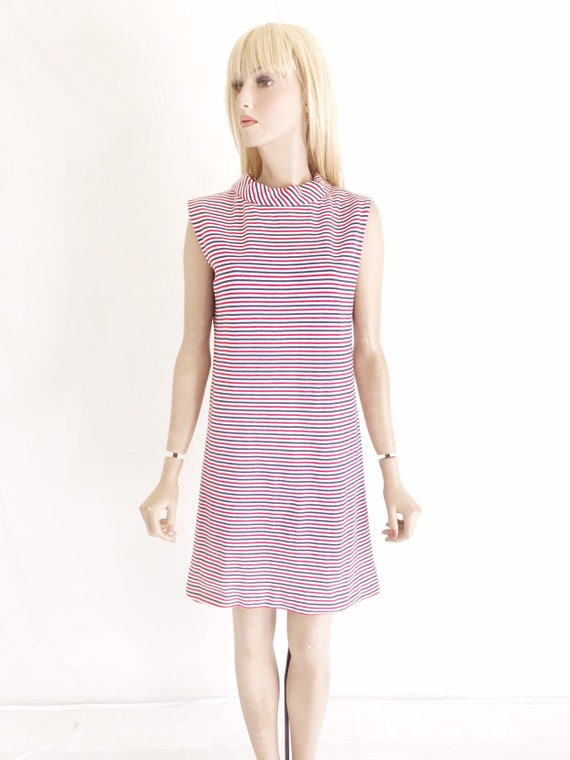 Vintage 60's Mod Dress. Women's Medium