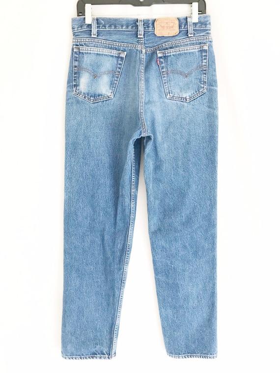 Vintage LEVIS 701 Student Fit Jeans. Tag 32 x 34.… - image 7