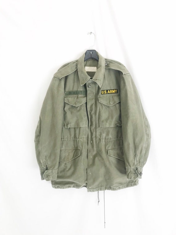 Vintage 70's Military Issue Army Jacket/Parka