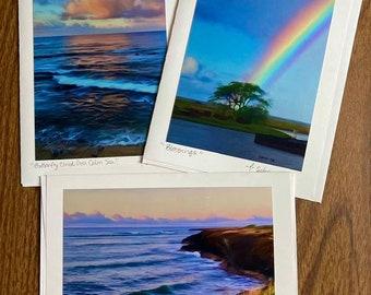 Tropical III -Blank Card Set (3)- Kauai