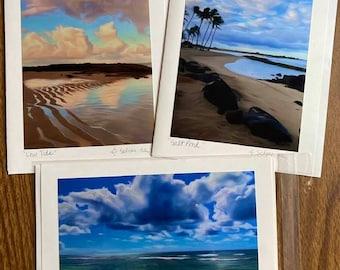 Tropical IV -Blank Card Set (3)- Kauai