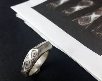 Joan of Arc's Ring - Unengraved - Engravable - Made to Order up to size 9