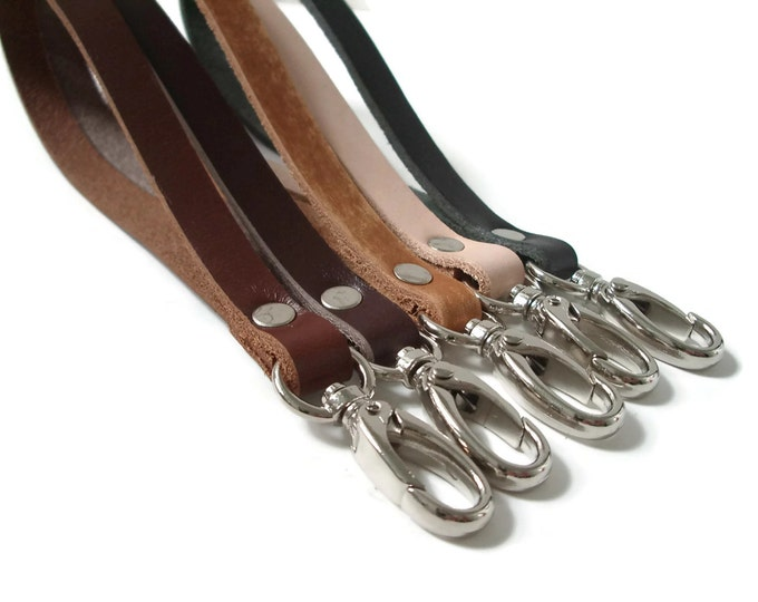 Leather Wrist Straps, Wristlet Straps for Clutch Bags
