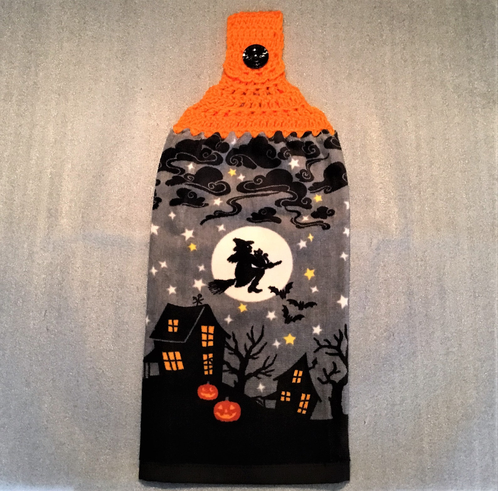 Halloween Witch Kitchen Towels Page Five