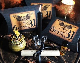Samhain Ritual Kit, Veils Edge, Pagan, Wiccan, Sabbat Ritual