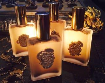 Dark Shadows Alchemy Perfume Potion® with Amber, Musk, Vetiver, Vanilla, Sandalwood & More