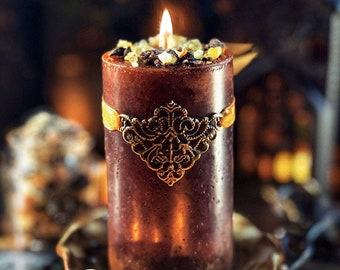 Frankincense and Myrrh Alchemy Candles for Peace & Blessings 2x3