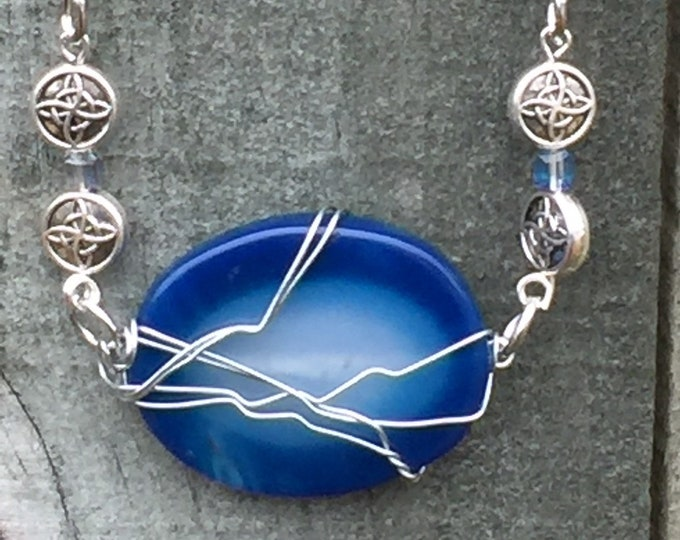 Supernatural Jewelry - God's Having a Mid-Eternity Crisis Wire Wrapped Necklace Ready to Ship