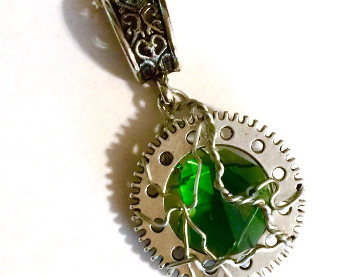 Supernatural - Dean's Angry Voice - Supernatural Inspired Wire Wrapped Necklace Dean Winchester Jensen Ackles