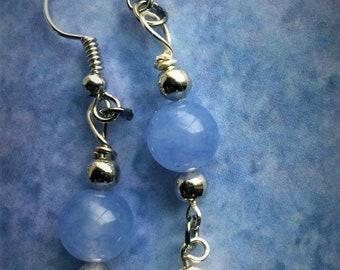 Bulma Inspired Earrings Dragon Ball DBZ Dragon Ball Super Wire Wrapped Monica Rial