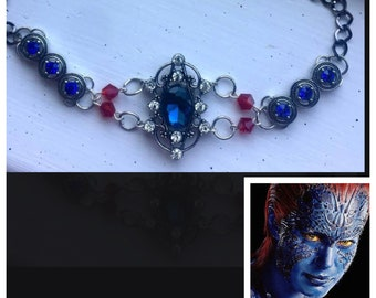 Mystique - X-Men Inspired Choker Marvel