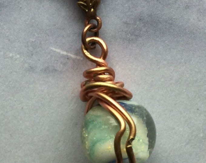 Castiel's Permission to be Happy - Wire Wrapped Supernatural Inspired Fan Art Castiel Misha Collins