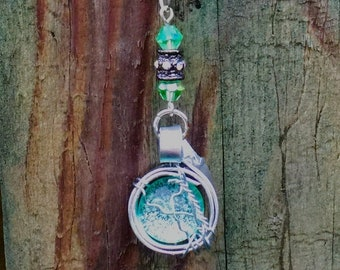 Son of a Bitch - Dean Winchester Supernatural Quote Inspired Wire Wrapped Necklace Fan Art