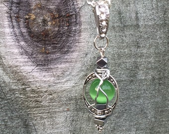 We Got Work to Do - Supernatural Inspired Wire Wrapped Necklace