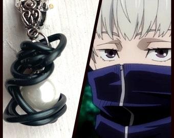 Jujutsu Kaisen Jewelry - Toge Inumaki Inspired Wire Wrapped Necklace