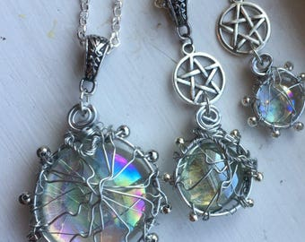 The Soul of Sam Winchester Supernatural Inspired Necklace Jared Padalecki SPNFamily Pentagram