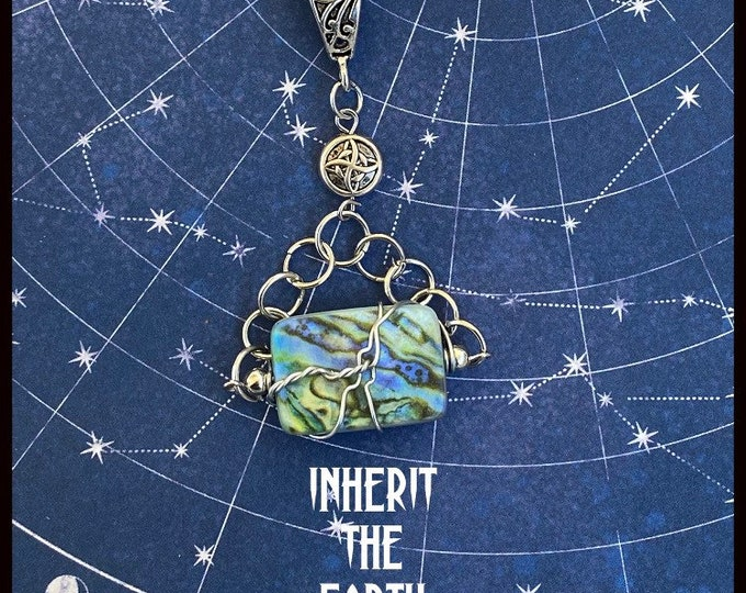 Supernatural Jewelry - Inherit the Earth - Wire Wrapped Necklace