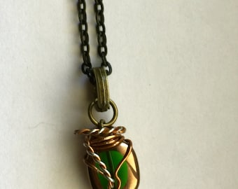 7ecffebc08f Dean s Obsession with The Lost Boys - Supernatural Dean Winchester Inspired  Wire Wrapped Necklace Fan Art