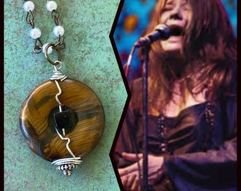 Janis Joplin Inspired Wire Wrapped Necklace