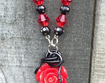 Rowena - Queen of Hell- Supernatural Ruth Connell Inspired Wire Wrapped Necklace