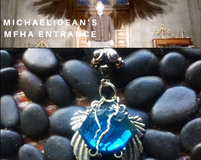 Michael!Dean's MFHA Entrance - Supernatural Dean Winchester Jensen Ackles Wire Wrapped Fan Art