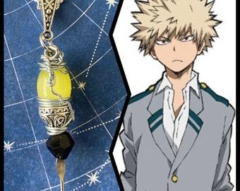 My Hero Academia Jewelry - Katsuki Bakugou Necklace - MHA Necklace