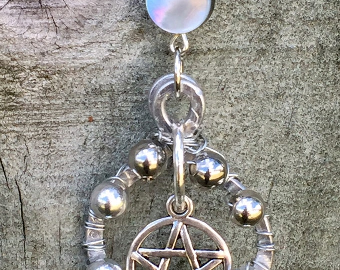 Featured listing image: Our Final Premiere - Supernatural Inspired Wirewrapped Necklace Pentagram