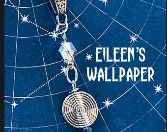 Eileen's Wallpaper - Supernatural Inspired Wire Wrapped Necklace Sam Winchester Jared Padalecki Eileen Leahy Shoshannah Stern