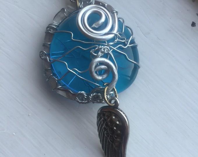 Supernatural Jewelry - Castiel Necklace - Castiel's Grace Restored