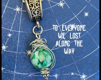 Supernatural Jewelry - To Everyone We've Lost Along the Way - Dean Winchester Necklace Sam Winchester Necklace Wire Wrapped Necklace
