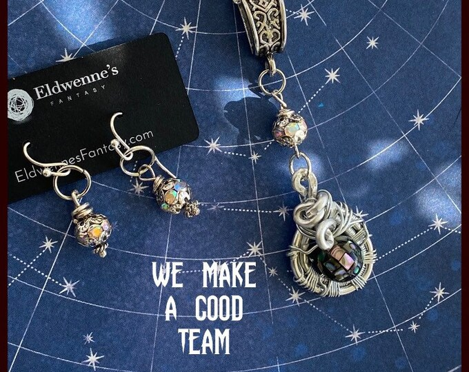 Supernatural Jewelry - Sam and Dean Necklace - We Make a Good Team