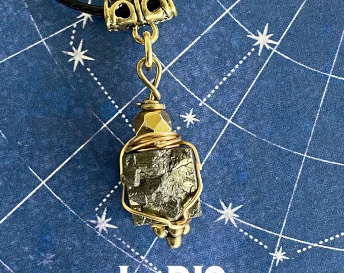 Supernatural Jewelry - - I Dig - Wire Wrapped Pyrite Necklace Jack Kline Alexander Calvert