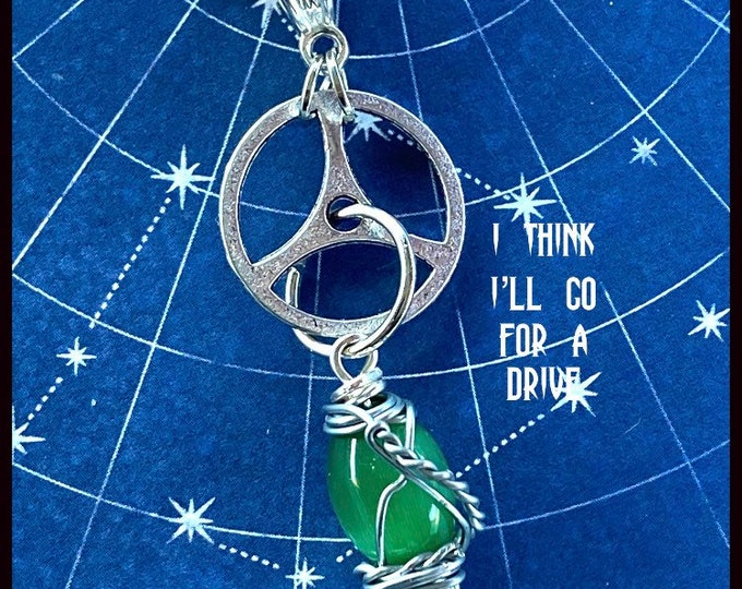 Supernatural Jewelry - Dean Winchester Necklace - I Think I'll Go for a Drive