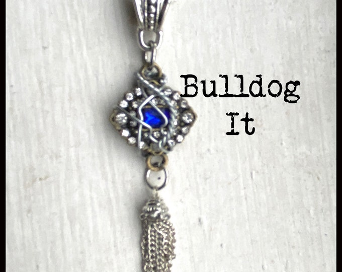 Walker Jewelry - Bulldog It - Walker Necklace - Wire Wrapped Necklace Jared Padalecki Cordell Walker Micki Ramirez Lindsey Morgan