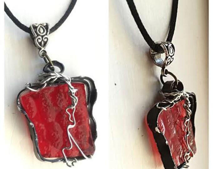 Star Wars Jewelry - Kylo Ren Necklace - Tantrum Number 1