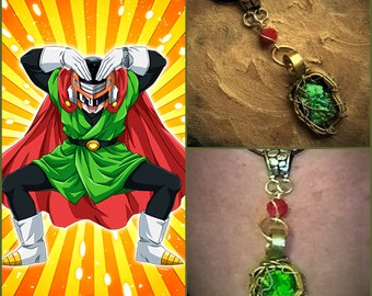 The Great Saiyaman - Gohan Dragon Ball Super Inspired Wire Wrapped Necklace Fan Art