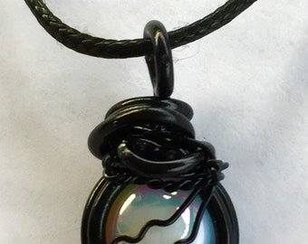 Soul or Not, That's Funny - Sam Winchester Supernatural Quote Inspired Wire Wrapped Necklace Fan Art
