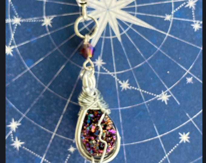 Supernatural Jewelry - - Oh...My...You - Wire Wrapped Necklace Ready to Ship