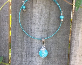 Rachel's Inspiration - Accessible Wire Wrapped Necklace