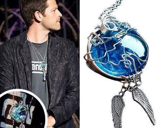 Supernatural Jewelry - Castiel Necklace - Castiel's Grace