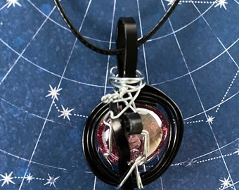 Rowena's Got Hell on Lockdown - Supernatural Rowena Ruth Connell Inspired Wire Wrapped Necklace