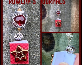 Rowena's Journals - Limited Edition Supernatural Inspired Wirewrapped Necklace Rowena Ruth Connell