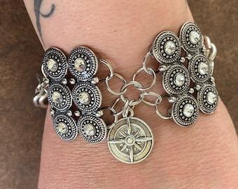 Yennefer of Vengerberg Inspired Bracelet The Witcher Anya Chalotra Compass