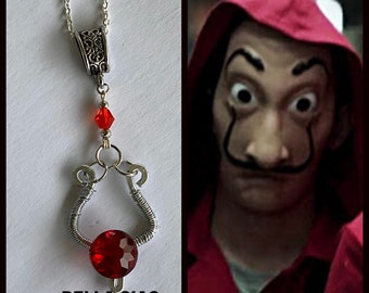 Bella Ciao - La Casa De Papel Money Heist Inspired Wire Wrapped Necklace