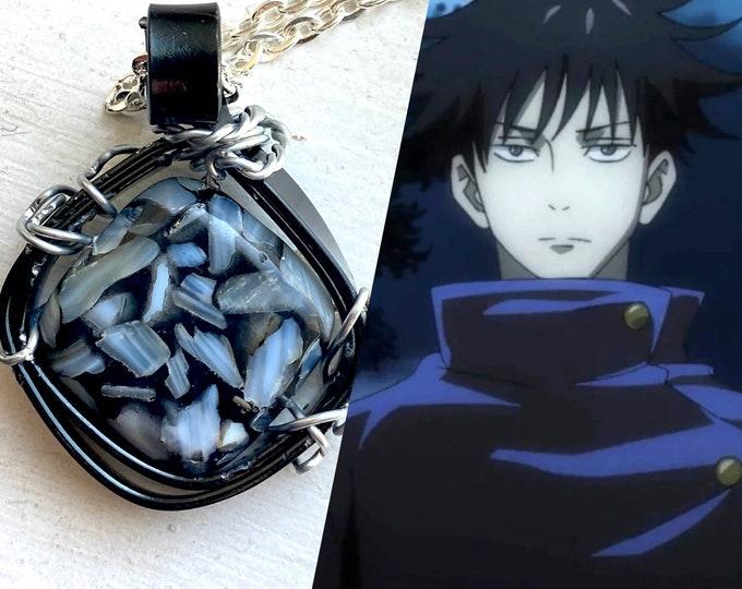 Jujutsu Kaisen Jewelry - Megumi Fushiguro Inspired Wire Wrapped Necklace