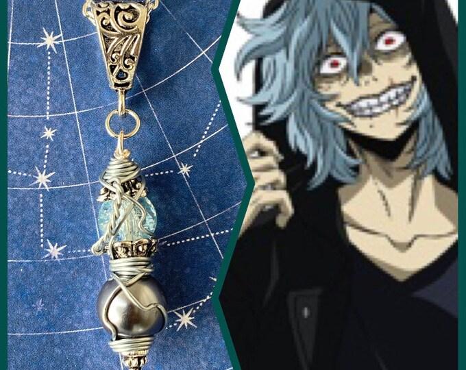 My Hero Academia Jewelry - Wire Wrapped Tomura Shigaraki Necklace
