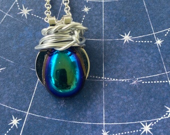 A Little Drop of Dean - Dean Winchester Supernatural Inspired Wire Wrapped Necklace