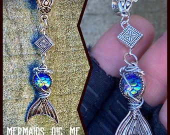 Mermaids Dig Me - Supernatural Inspired Necklace Fan Art