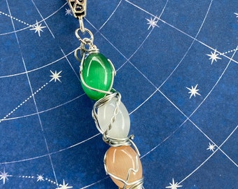 Dean-Eat Your Vegetables, Sam-Cut Your Hair, Jack-Save the World - Supernatural Inspired Wire Wrapped Necklace
